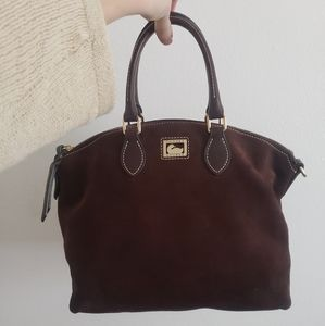 Dooney and Bourke suede bag